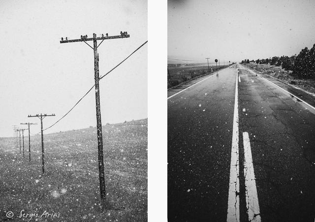 Carretera y antenas