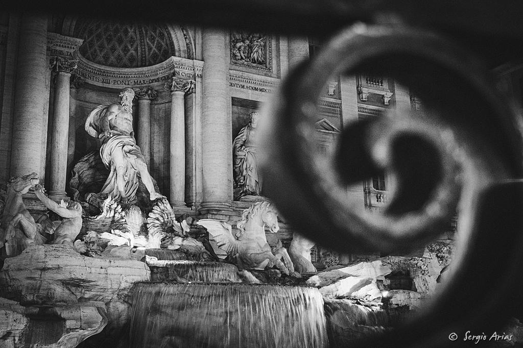 Amanecer en Roma - Fontana di Trevi