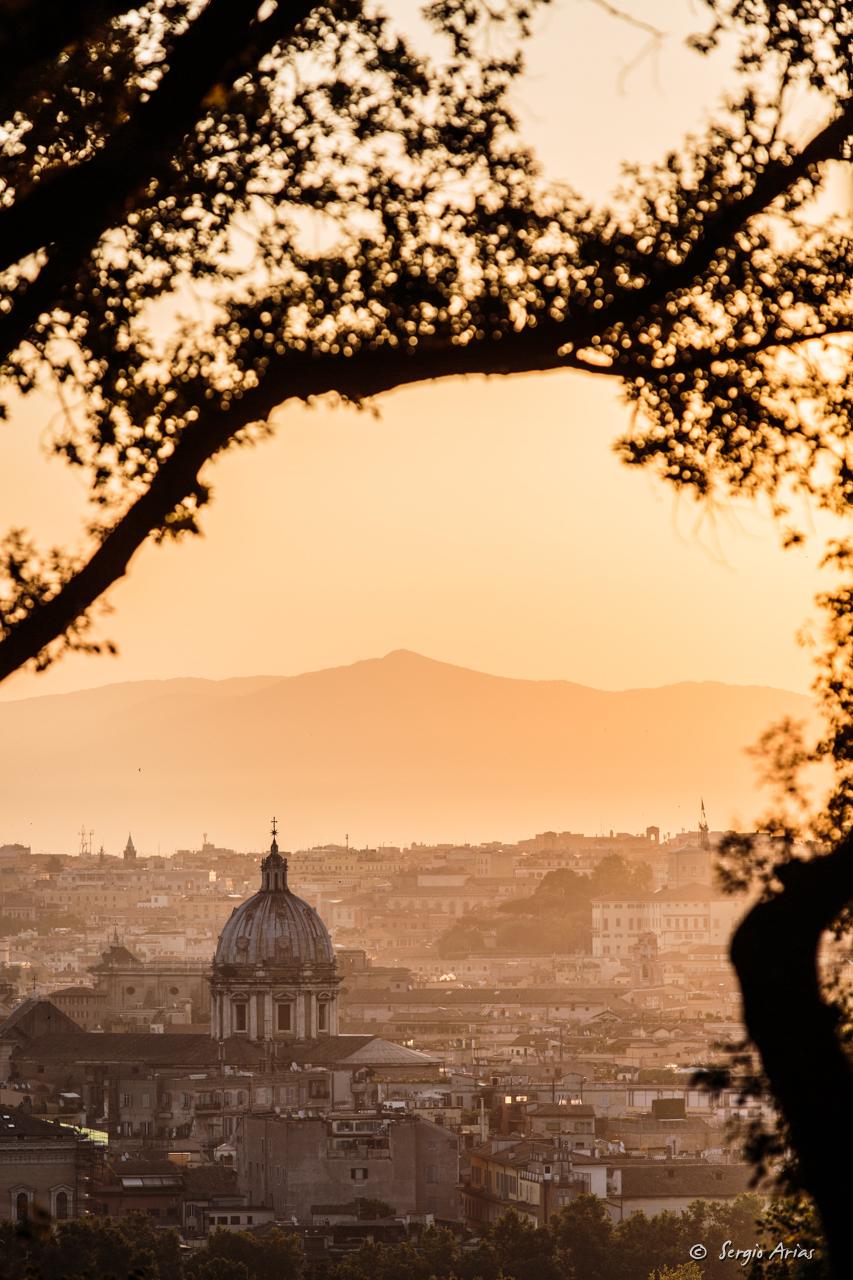 Amanecer en Roma