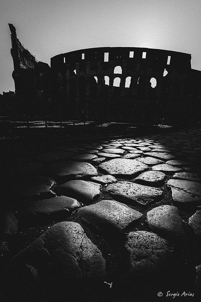 Amanecer en Roma - Coliseo