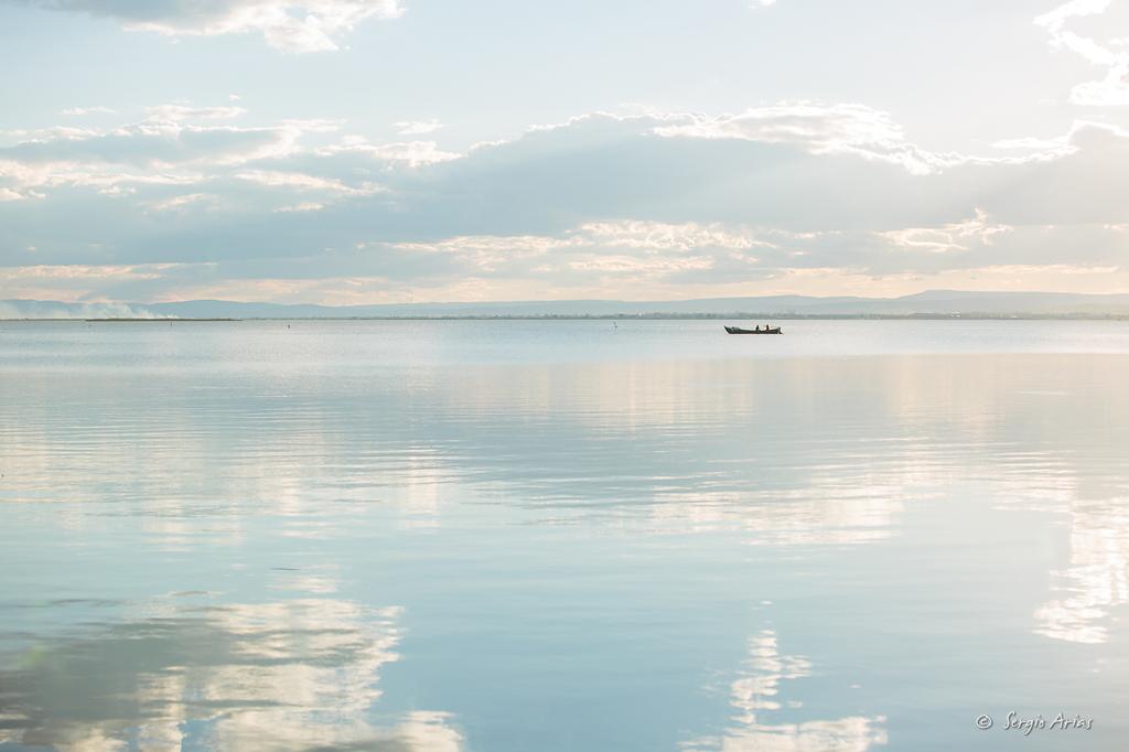 En días tranquilos la luz puede generar fotografías que transmiten mucha paz