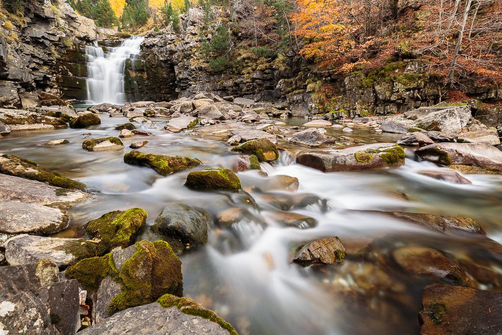 Cascada de Soaso - Ordesa en otoño