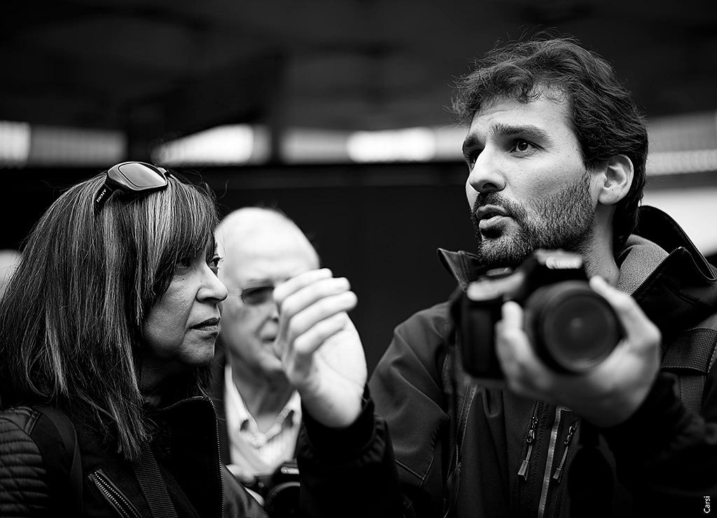 Explicando algunas dudas durante el fotowalk
