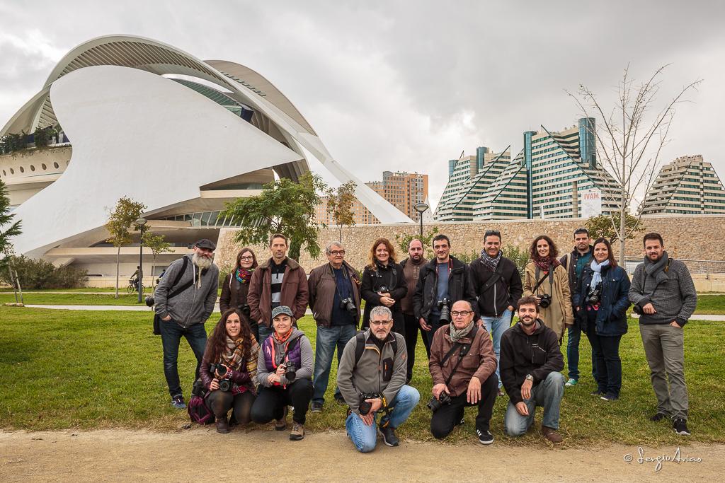 Fotowalk del sábado  en la Ciudad de las Ciencias