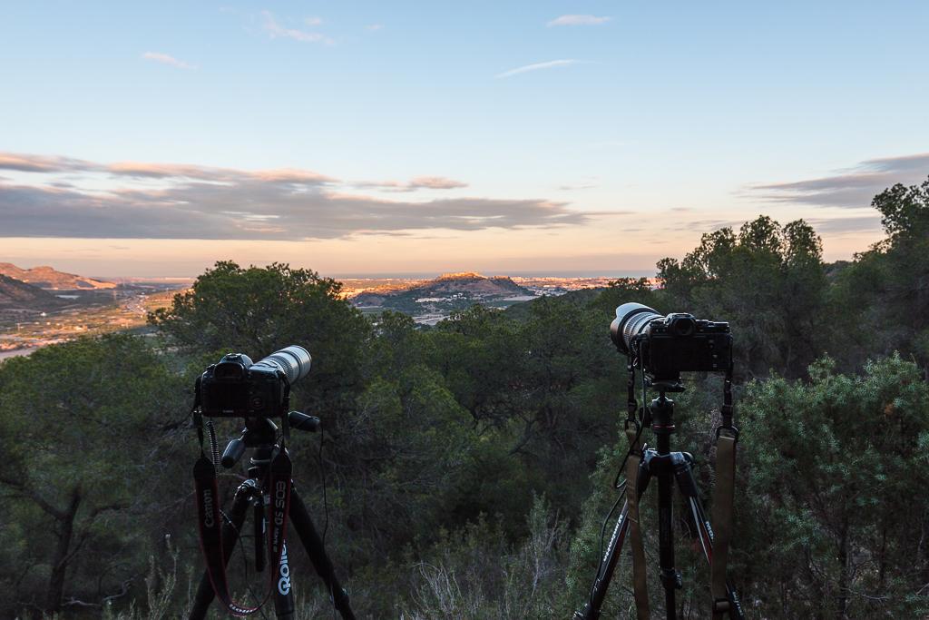 Preparación del equipo, del lugar, y la hora para fotografiar la Superluna