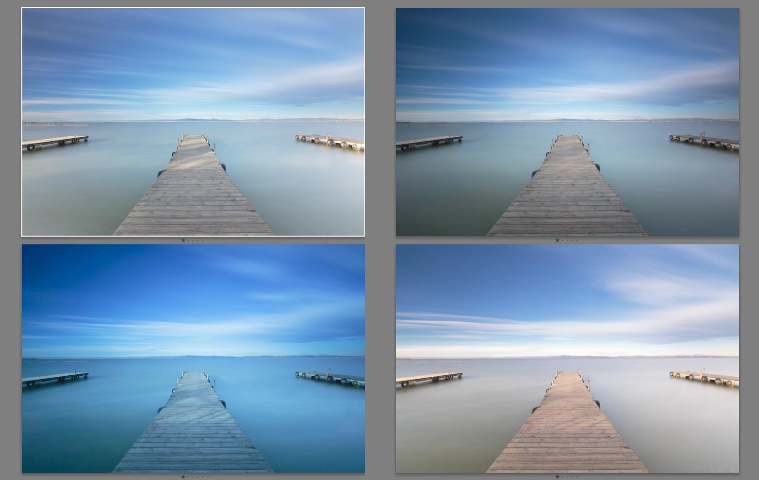 Comparativa de filtros ND de 10 pasos