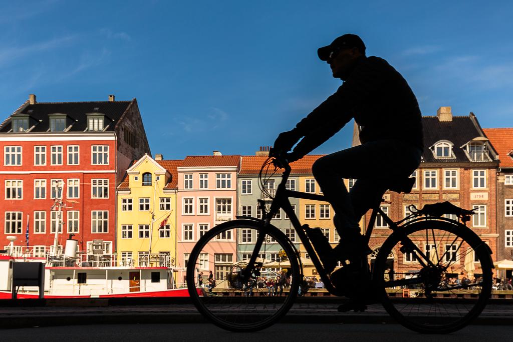 Las bicicletas siempre presentes en Copenhague
