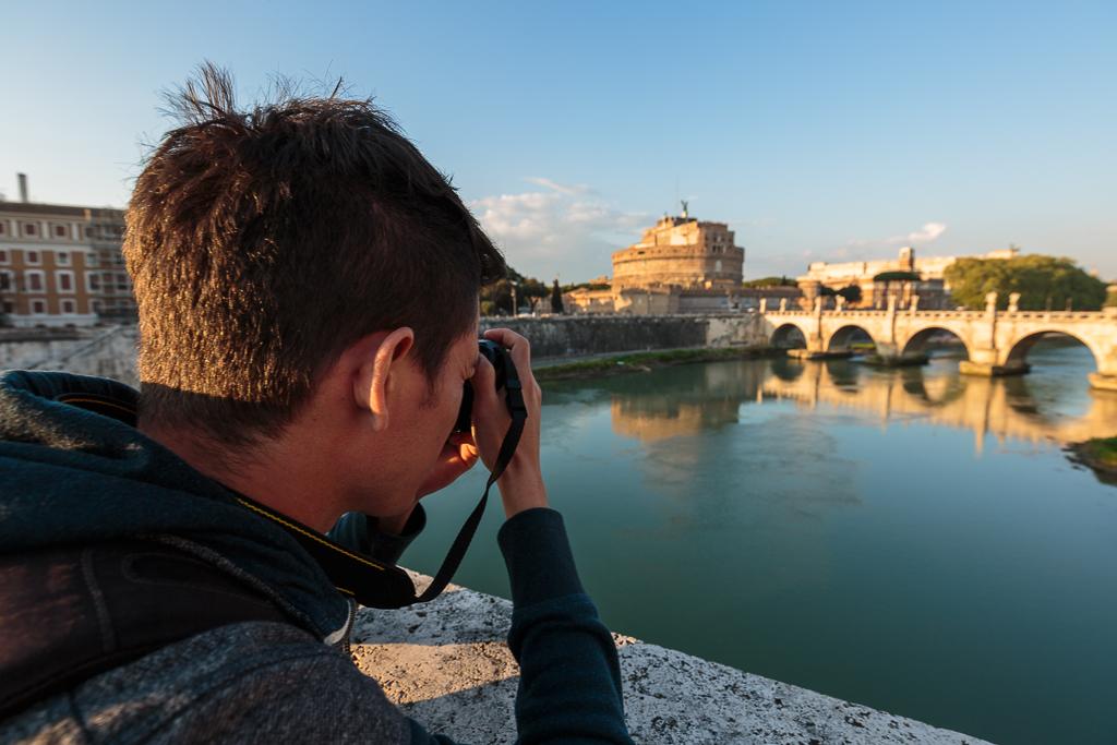 Taller fotográfico en Roma