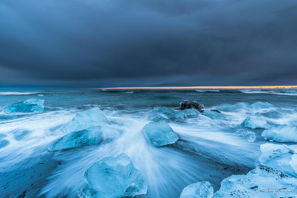 La playa de los hielos es una de mis rincones favoritos de Islandia