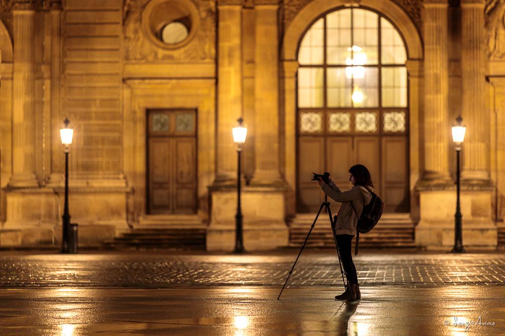Fotografía del taller fotográfico realizado en París