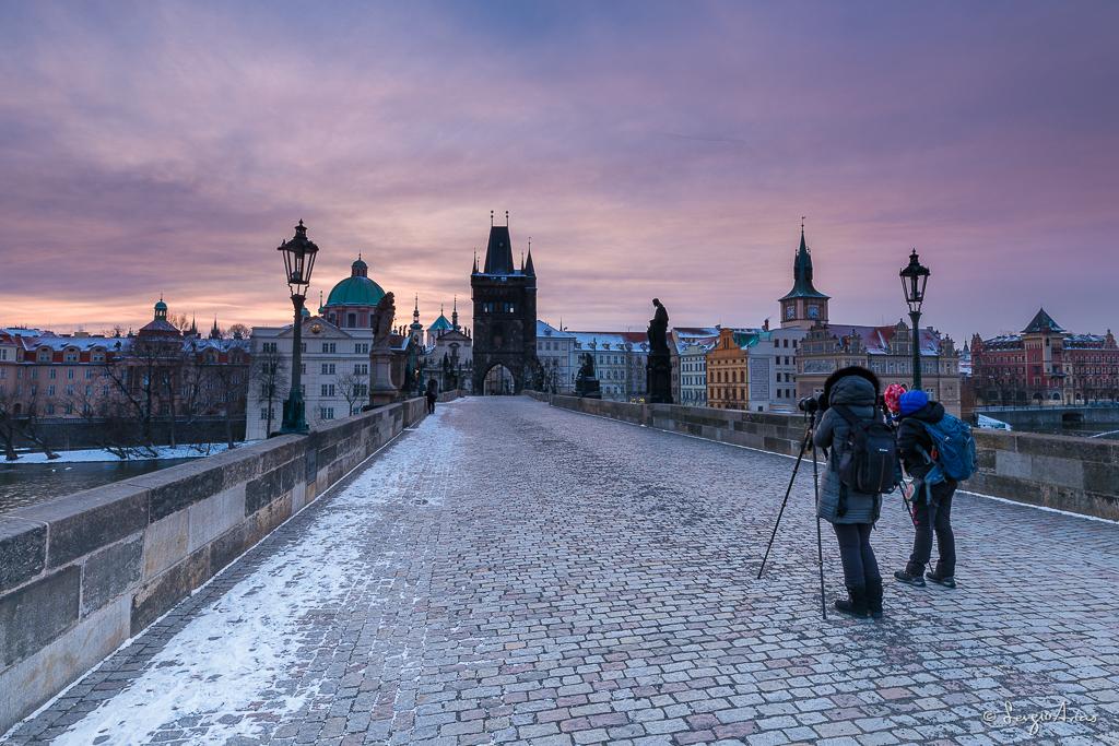 Fotografía del taller fotográfico realizado en Praga