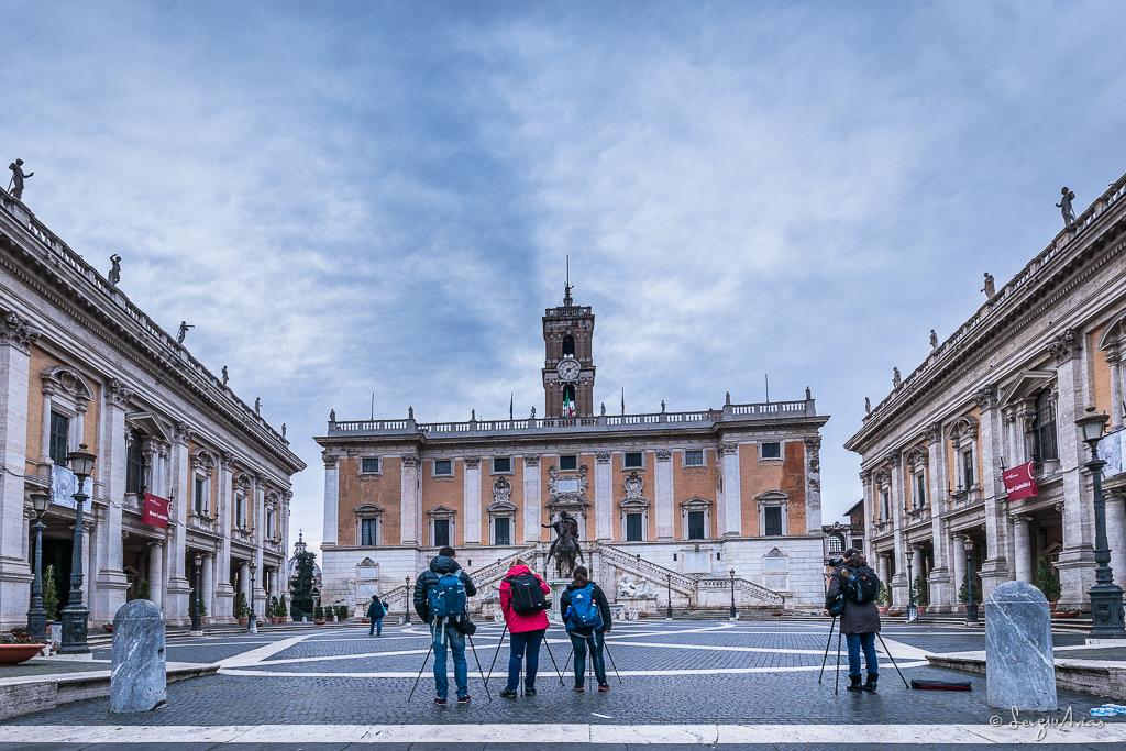 Fotografía del taller fotográfico realizado en Roma