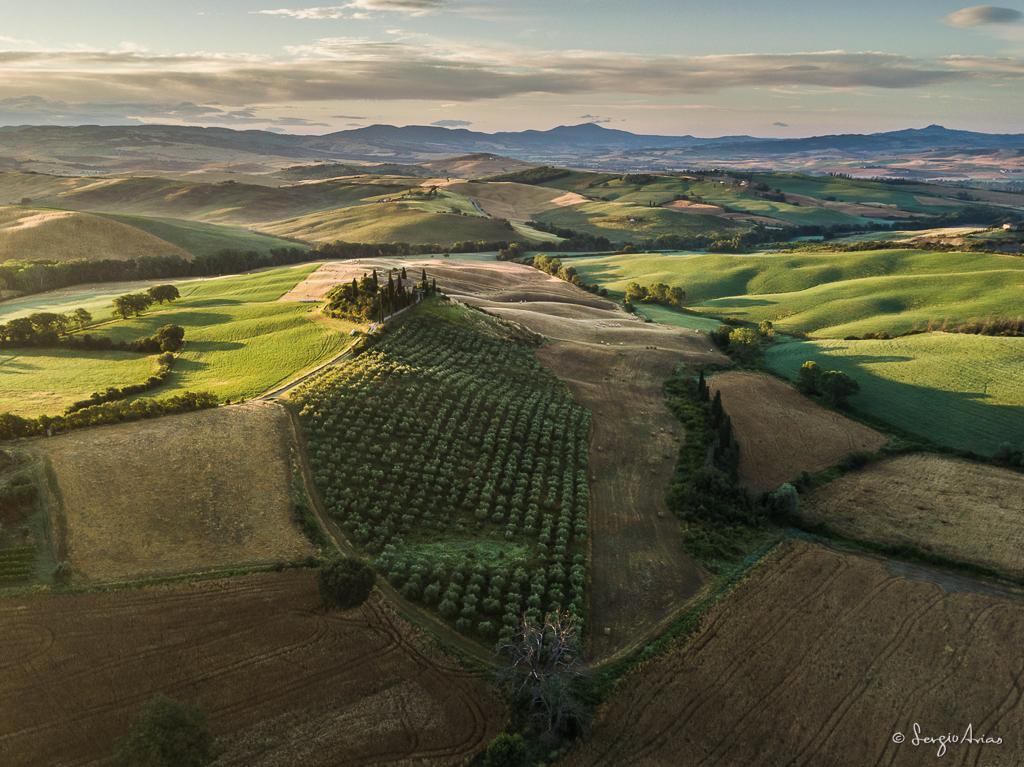 Este lugar es el típico que se ve en las fotografías, pero en esta ocasión desde el aire