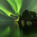 Explosión verde en Islandia: Las Auroras Boreales en todo su esplendor