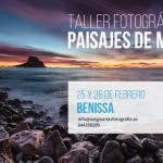 Taller fotográfico de paisaje en Benissa y Calpe