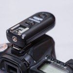 Una manera sencilla de usar el flash fuera de la cámara: disparadores Yongnuo RF-603