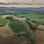 La Toscana a vista de pájaro