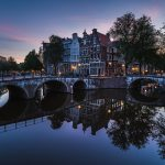 Ámsterdam, ciudad de  canales