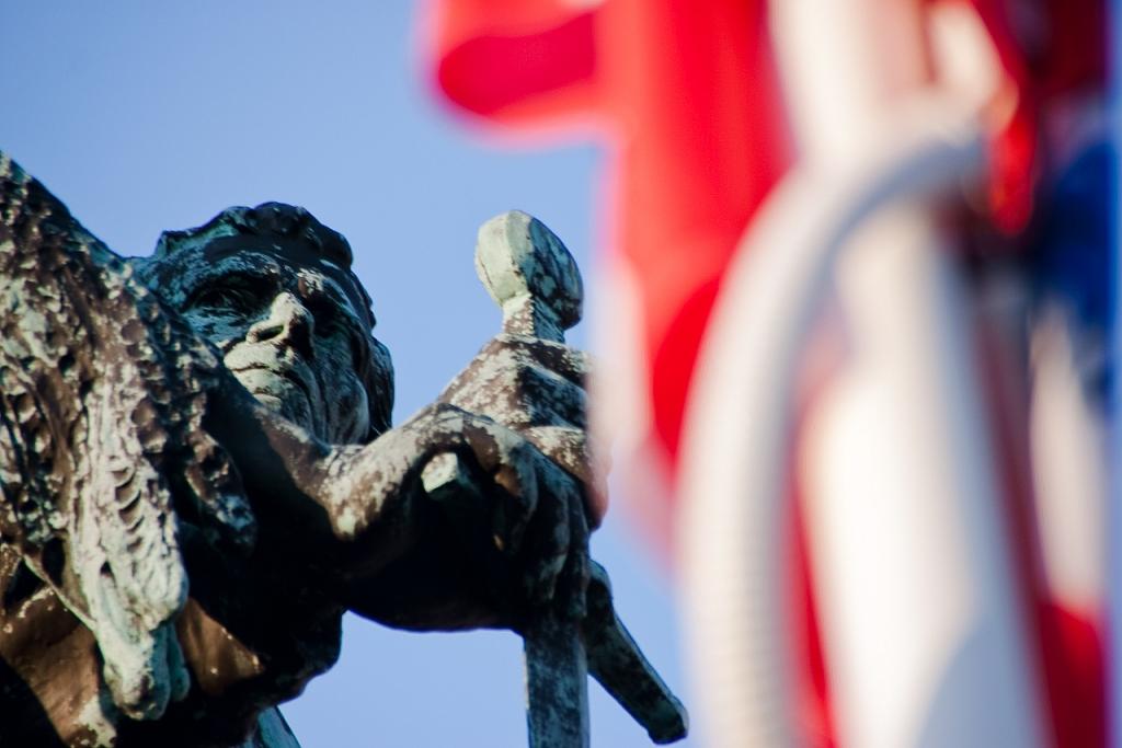 Jan Breydel y  su bandera - Brujas - Sergio Arias Ramón