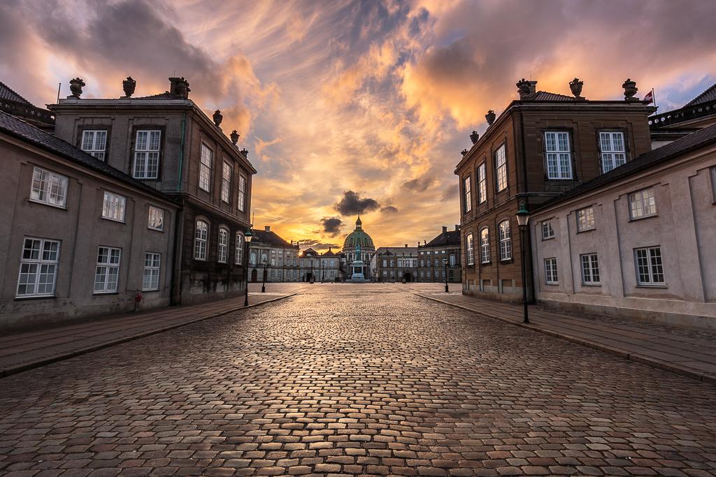Iglesia de Mármol y Palacio Amalienborg - Sergio Arias Ramón