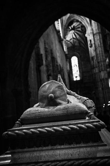 Vasco de Gama en su tumba - Lisboa - Sergio Arias Ramón