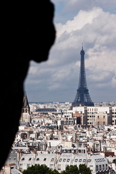 La mirada de piedra - París - Sergio Arias Ramón