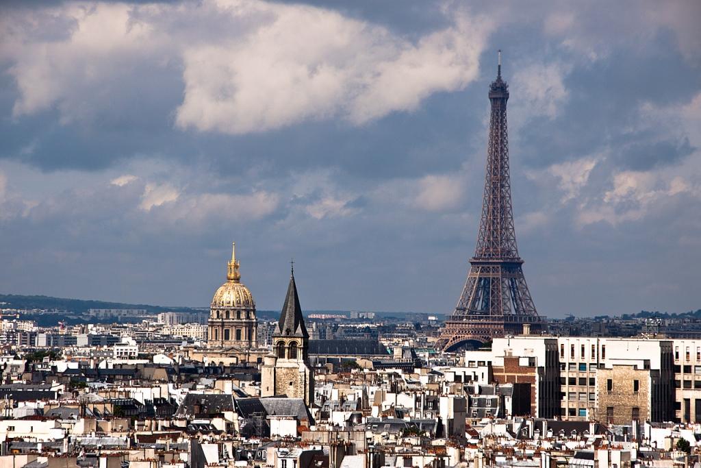 Torre Eiffel y los Inválidos - París - Sergio Arias Ramón