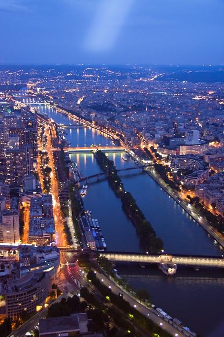 El Sena nocturno - París - Sergio Arias Ramón