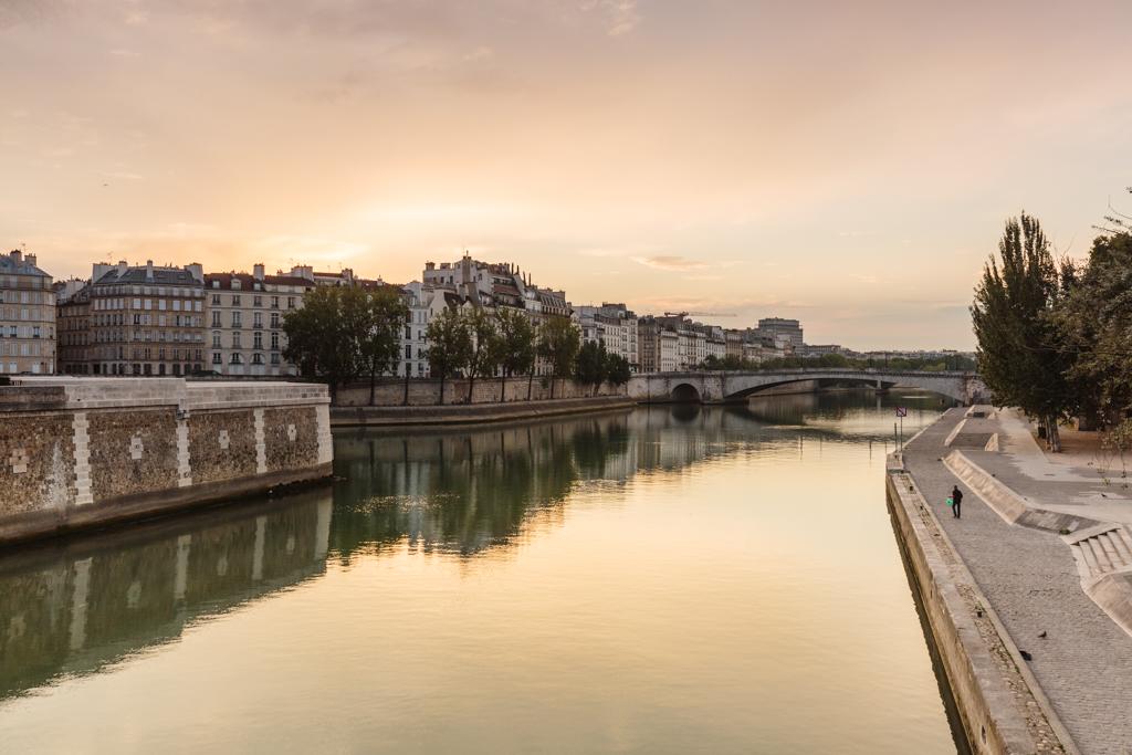 Amanecer en el río Sena - París - Sergio Arias Ramón
