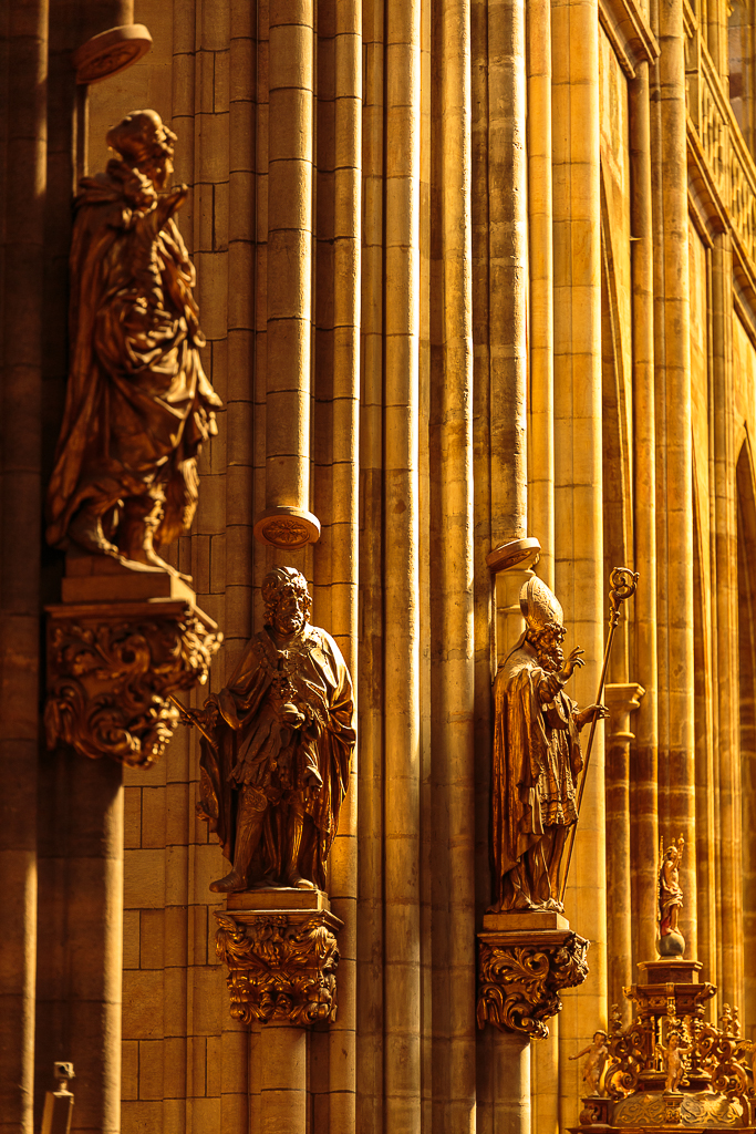 Interior de la Catedral de San Vito - Praga - Sergio Arias Ramón