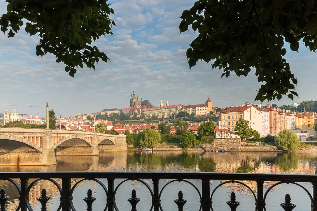 Castillo de Praga y el río Moldava - Praga - Sergio Arias Ramón