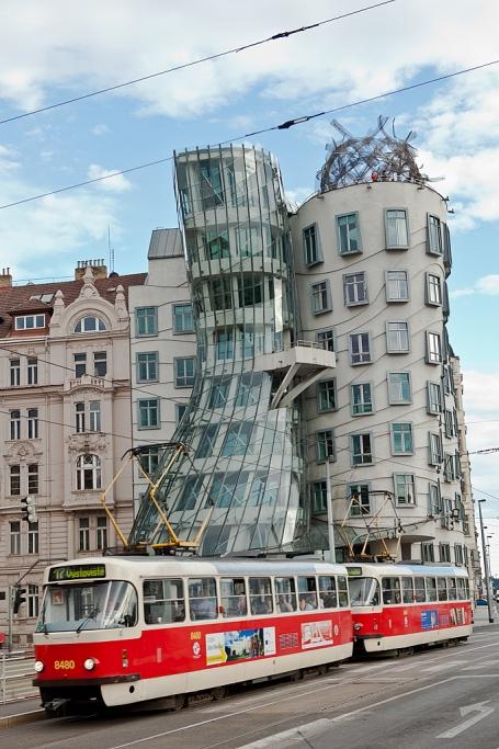 Los edificios danzantes - Praga - Sergio Arias Ramón