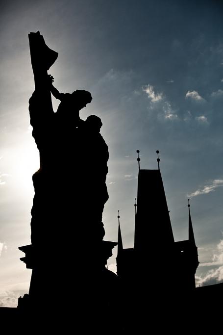 Una de tantas estatuas - Praga - Sergio Arias Ramón