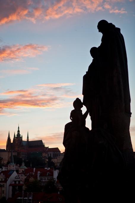 El castillo de Praga al atardecer - Praga - Sergio Arias Ramón