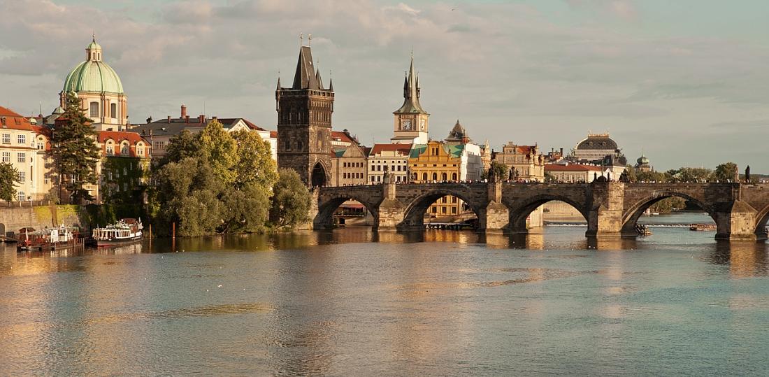 Puente de Carlos al atardecer - Praga - Sergio Arias Ramón