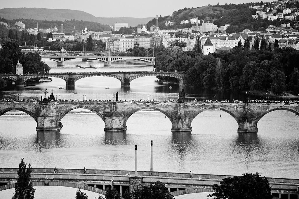Cinco puentes - Praga - Sergio Arias Ramón