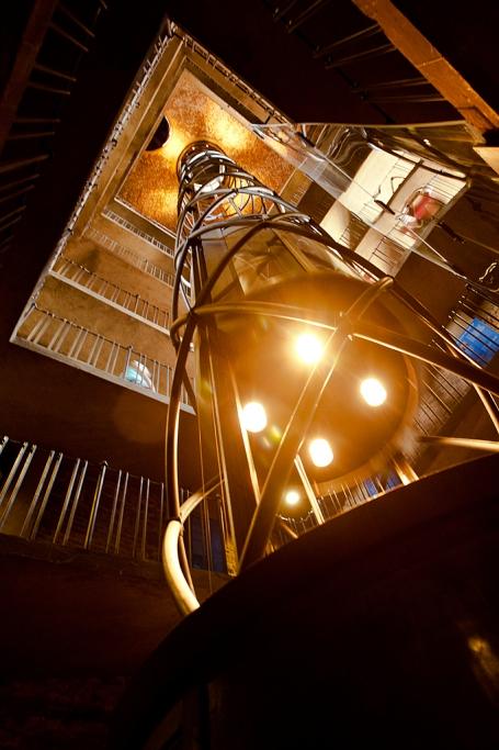 Ascensor de la Torre del Reloj - Praga - Sergio Arias Ramón