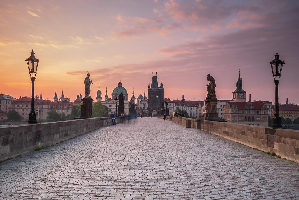 Amanecer en el Puente de Carlos - Praga - Sergio Arias Ramón