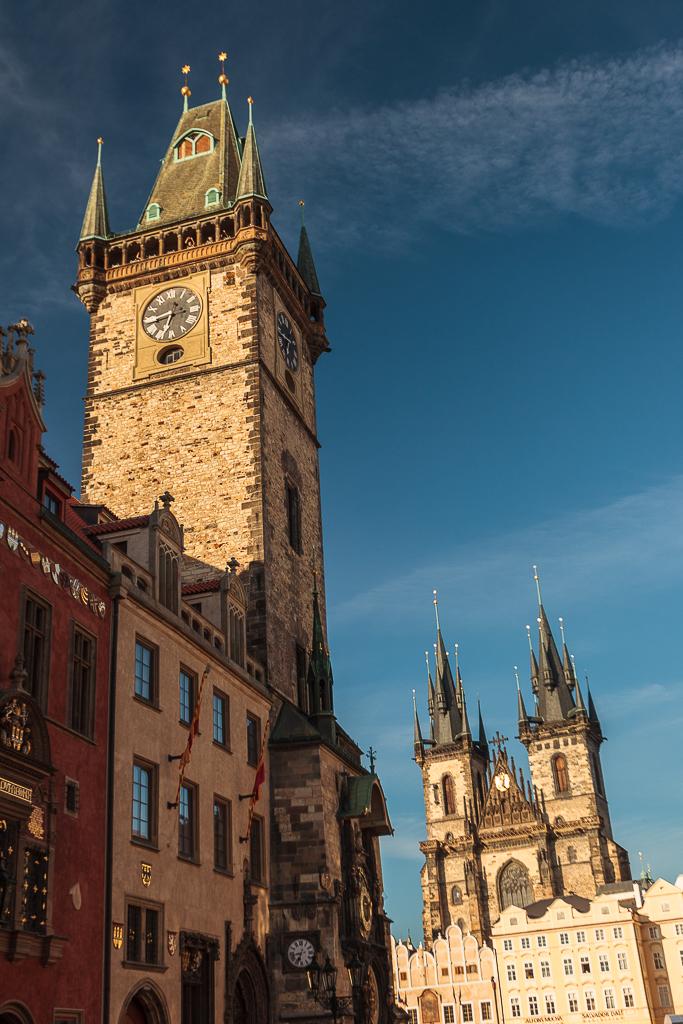 Torre del Reloj e Iglesia de Týn - Praga - Sergio Arias Ramón