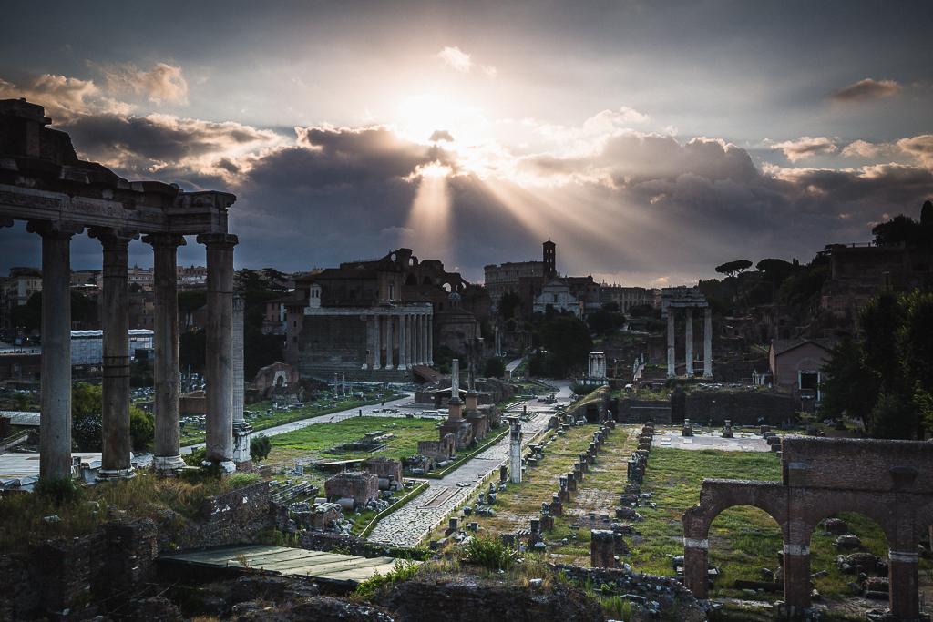 Amanecer en Roma (2009-2015) - Sergio Arias Ramón