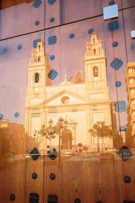Reflejo de la Iglesia de Nuestra Señora de la Asunción - Ribarroja del Túria - Sergio Arias Ramón