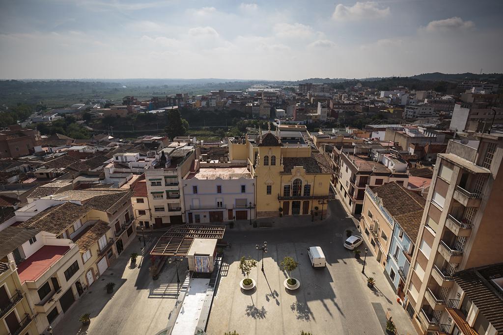 Vista de la plaza del Ayuntamiento - Ribarroja del Túria - Sergio Arias Ramón