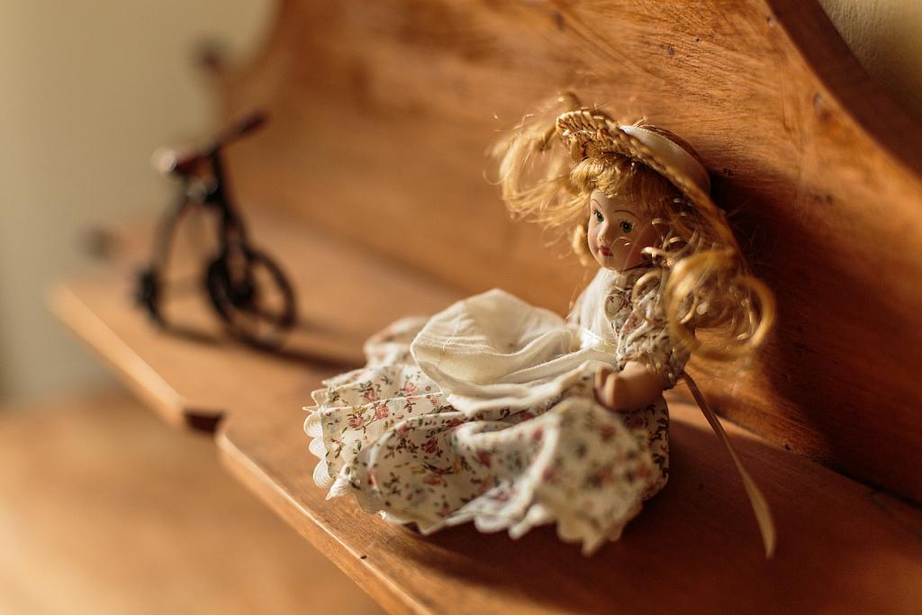 Detalle de una muñeca en una de las habitaciones del Molino - Ribarroja del Túria - Sergio Arias Ramón
