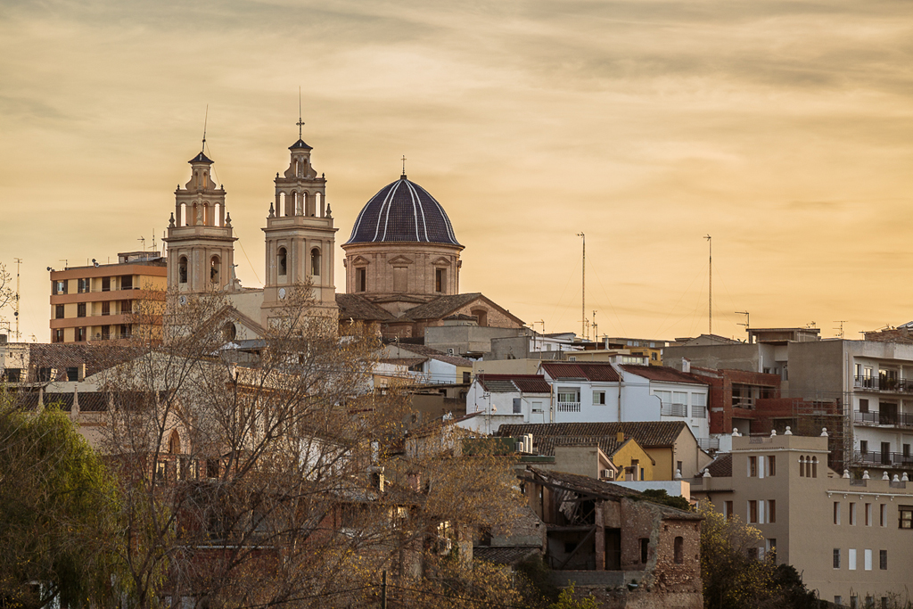 Puesta de sol sobre Ribarroja - Ribarroja del Túria - Sergio Arias Ramón