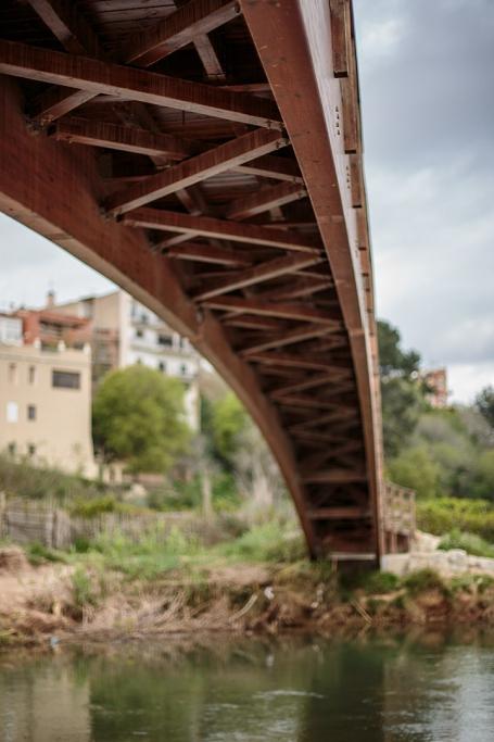 Puente de madera - Ribarroja del Túria - Sergio Arias Ramón