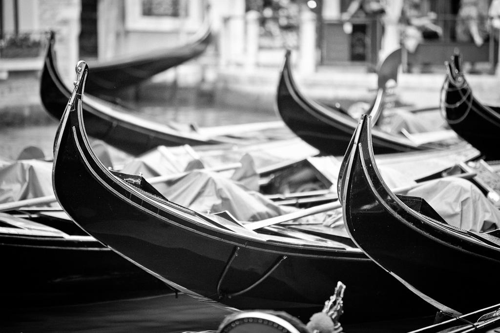 Nido de góndolas - Venecia - Sergio Arias Ramón