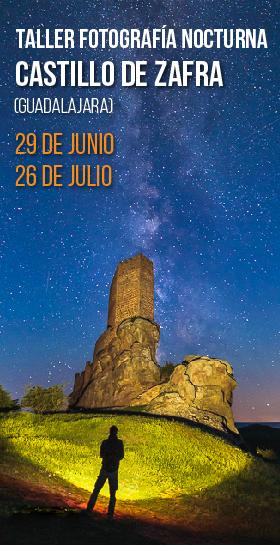 Taller de fotografía nocturna en el castillo de Zafra